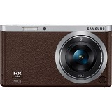 SAMSUNG Mirrorless Digital Camera NX Mini [NXF1] - Brown - Camera Mirrorless